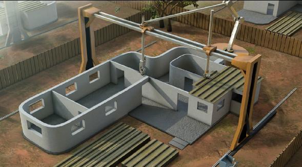 Будинок надрукований на 3D принтері