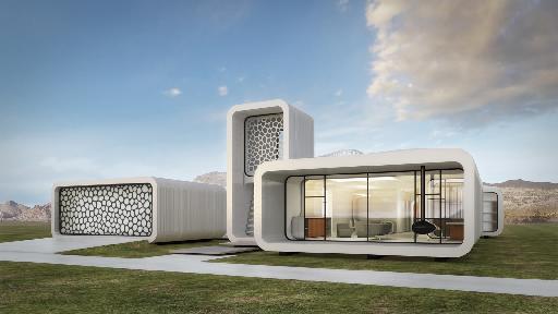Будинок, надрукований на 3D принтері в Дубай